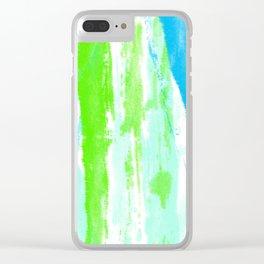 Fresh Paint Clear iPhone Case