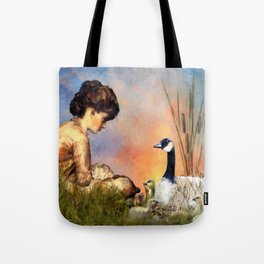 Six Geese a Laying Tote Bag