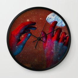 HANDS OF GOD Wall Clock
