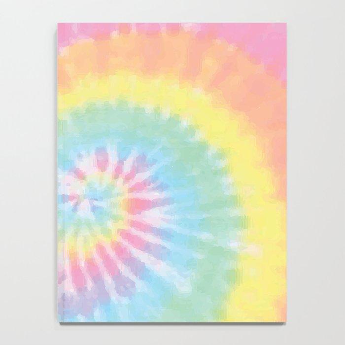 Pastel Tie Dye Notebook