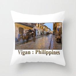 Vigan : Philippines Throw Pillow