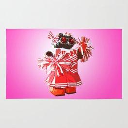 Cheerbot Pink Rug