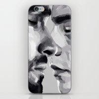 sterek iPhone & iPod Skins featuring sterek by Finduilas
