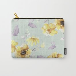 FLOWERS WATERCOLOR 28 Carry-All Pouch