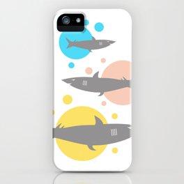 Shark #society6 #decor #buyart #artprint iPhone Case