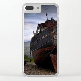 Left high and dry. Clear iPhone Case