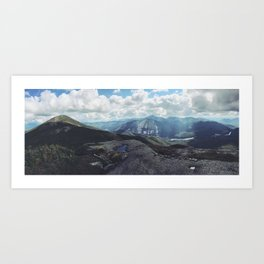 High Peaks Adirondacks Art Print