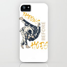 Funny Judo Design iPhone Case