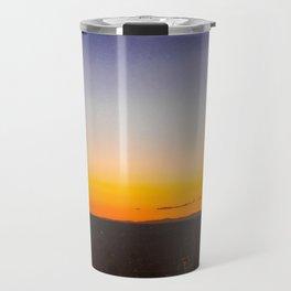 Sunset on a Hill 2 Travel Mug