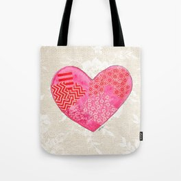 Lovely at Heart Tote Bag