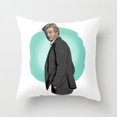 Mr Jane Throw Pillow