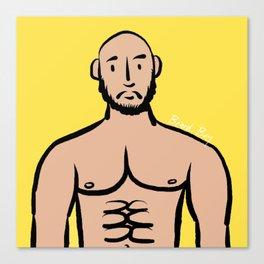 Beard Boy: Isreal Canvas Print