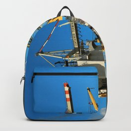 Container Ship Backpack