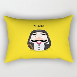 Mr Daruma Rectangular Pillow