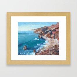 Big Sur No.1 Framed Art Print