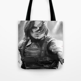 Winter Soldier/Bucky Barnes Tote Bag