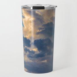 Big Sky Over Huntington Beach Travel Mug