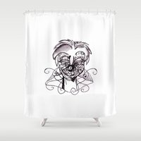 clown Shower Curtains featuring Clown. by sonigque
