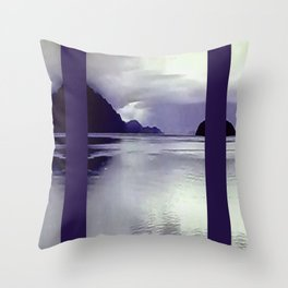 River View VI Throw Pillow