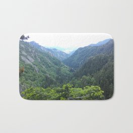 The green valley Bath Mat