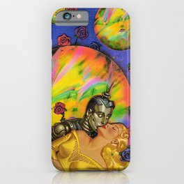 Cyber Romance  iPhone Case