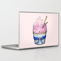 cupcake Laptop & iPad Skins featuring Cupcake by Olechka