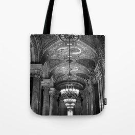 Palais Garnier in Black & White Tote Bag