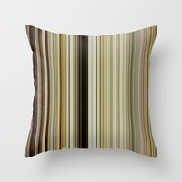 stripe Throw Pillows featuring Stripe by Fine2art