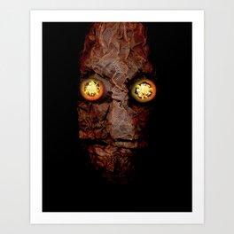Copperhead mask_094 Art Print