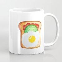 good morning Mugs featuring Good morning by Anna Alekseeva kostolom3000