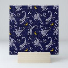 Scorpio Moon - Galaxy Mini Art Print