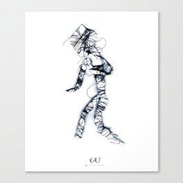 w/s | w Canvas Print
