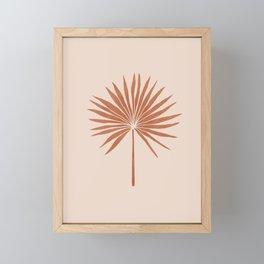 Abstract Fan Palm Framed Mini Art Print