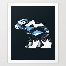 Winter Bear Art Print