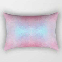 Mozaic design in soft colors Rectangular Pillow