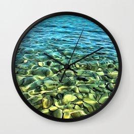 The Seashore Wall Clock