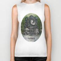 ganesha Biker Tanks featuring Ganesha by Lucia