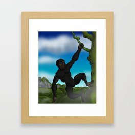 An Ape Framed Art Print