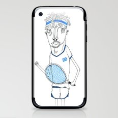 Tennis iPhone & iPod Skin