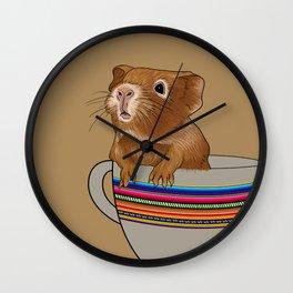 lima beige Wall Clock