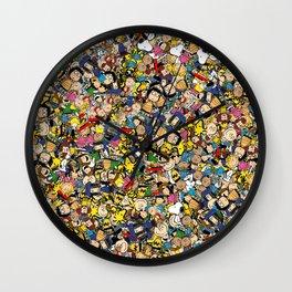 Peanuts Characters Wall Clock