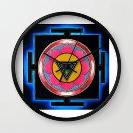 Kali Ma Yantra Wall Clock