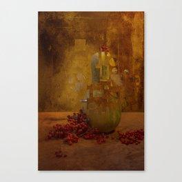 Disassembled pumpkin Canvas Print