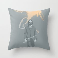 Out of the ashes arose a Phoenix Throw Pillow