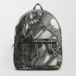 Inktober 2018 Breakable Backpack