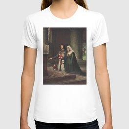 The Dedication - Edmund Blair Leighton T-shirt