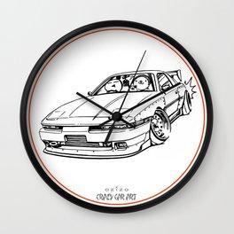 Crazy Car Art 0214 Wall Clock
