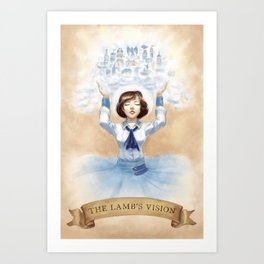 The Lamb's Vision Art Print