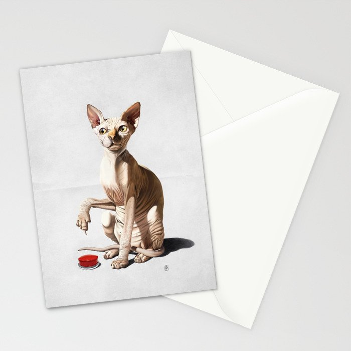 Cat-astrophe (Wordless) Stationery Cards