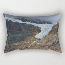Angel Glacier on Mt. Edith Cavell in Jasper National Park, Canada Rectangular Pillow